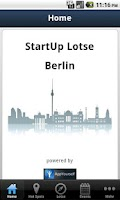 Screenshot of StartUp-Lotse Berlin