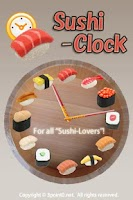 Screenshot of Sushi Clock