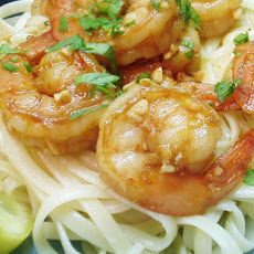 Bird's Easy Shrimp Scampi