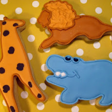 Animal Christmas Cookies