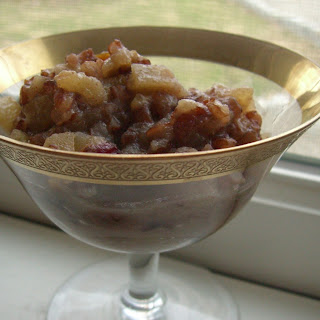 Bhutanese Red Rice and Apple Compote