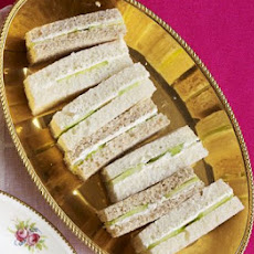 Cream Cheese & Cucumber Fingers