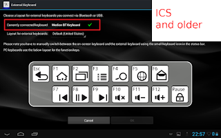 Screenshot of External Keyboard
