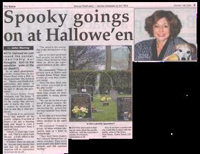 Spooky Goings on at Hallowe'en