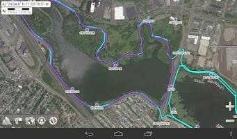 Screenshot of AlpineQuest GPS Hiking