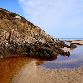 YingYang by Omar Salam - Landscapes Beaches ( lewis, tolsah, beach, peat water, yingyang )
