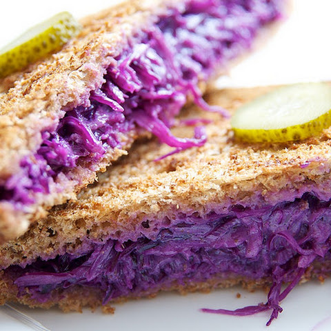 Red Cabbage Sandwiches