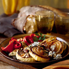 Roasted Sweet Onions with Cabrales Blue Cheese