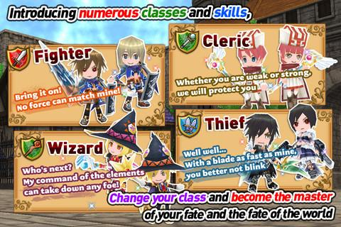 RPG Elemental Knights(3D MMO) Screenshot 6