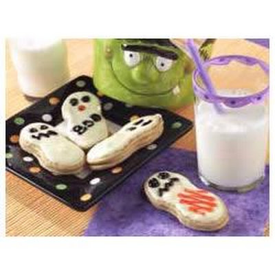 Easy Ghost Cookies