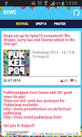 Screenshot of Pukkelpop