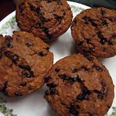 Molasses Oatmeal Chocolate Chip Muffins