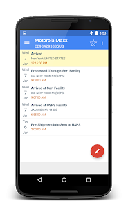 Free Download USPS auto tracking system APK