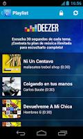Screenshot of Tigo Music Guatemala