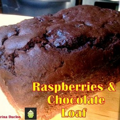 Raspberry Chocolate Loaf