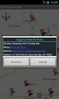 Screenshot of RV Camps Locator - Pro