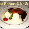 fried banana and ice cream