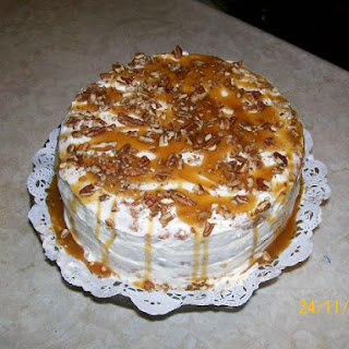 3 Layer Pumpkin Pecan Cake