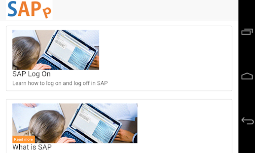 SAPp - SAP video course - screenshot