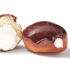 Mexican Hot Chocolate–Glazed Sufganiyot (Hanukkah Donuts) with Marshmallow Filling Recipe