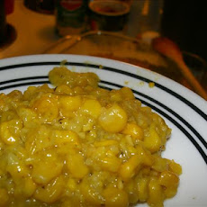 Simple Corn Pudding (Bajan)
