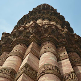 qutab minar  by Rishabh Re - Buildings & Architecture Statues & Monuments ( old, feeling, indian, monument, proud, memories, classic )