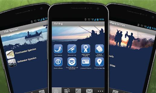 Download android app ny fishing hunting wildlife for for Utah hunting and fishing mobile app