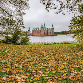 Frederiksborg Castle, Denmark by Catalin Tibuleac Fotografie - Buildings & Architecture Public & Historical ( building, autumn, colors, fall, lake, castle, denmark, leaves, color, colorful, nature )
