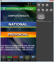 Screenshot of PTV Mobile App