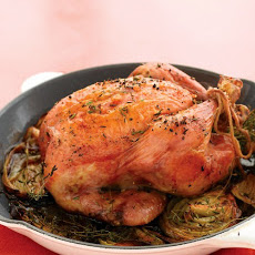 Roasted Chicken with Vegetables and Thyme