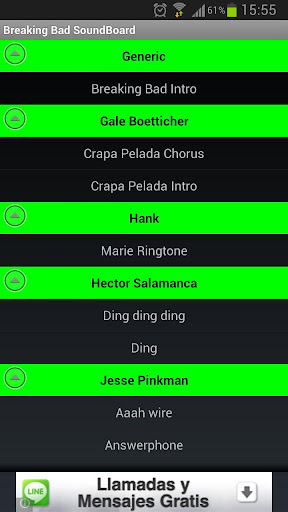 breaking-bad-soundboard for android screenshot