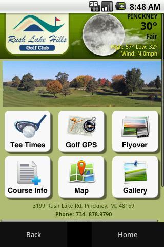 Rush Lake Hills Golf Club