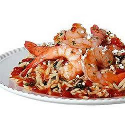 Lisa P's Shrimp with Orzo
