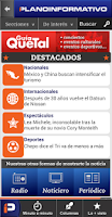 Screenshot of Plano Informativo