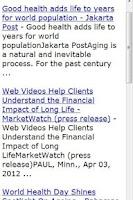 Screenshot of Longevity