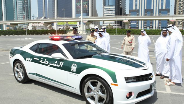 Dubai Super Police Cars Chevy Camero