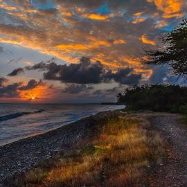 Playa Los Almendros by Jose German - Landscapes Sunsets & Sunrises (  )