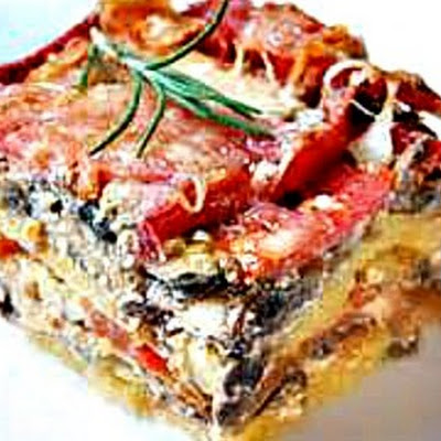 Slow Cooker Vegetable-Polenta Casserole
