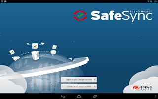 Screenshot of SafeSync™