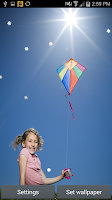 Screenshot of Kites in the air