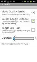 Screenshot of Car Dash Video Recorder