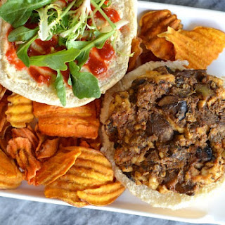 Tofu Mushrooms Burgers Recipes