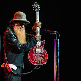 ZZ TOP by Stéphane zOz - People Musicians & Entertainers ( music, concert, zoz, singer, zz top, festival, rock, guitar, blues, portrait, live )