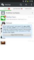 Screenshot of WeChat Random Chat
