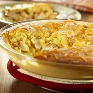 Cornbread Chicken Pot Pie