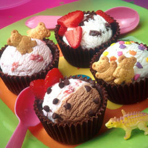Cupcake Scoops