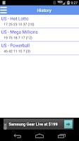 Screenshot of Lottery Shaker