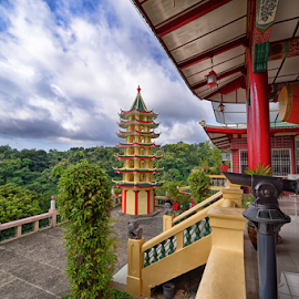 Temple -Cebu by Ferdinand Ludo - Buildings & Architecture Places of Worship ( cebu city, tao-ist temple, place of worship, budhist )