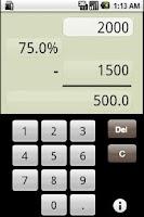 Screenshot of PerCent