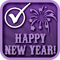 NEW YEARS PARTY CHECKLIST PLAN icon